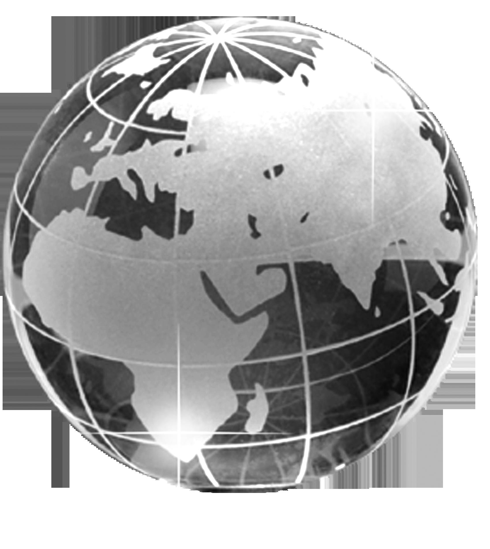 Ansprechend Weltkugel 3d Das Beste Von Kristallglas Ball Größe 40 Mm | Kristallbälle